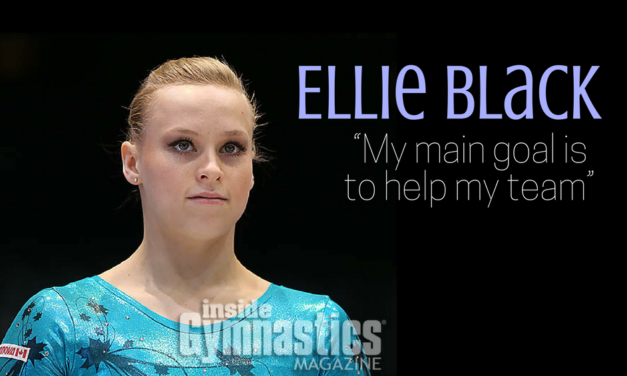 "Ellie Black: ""My main goal is to help my team"""