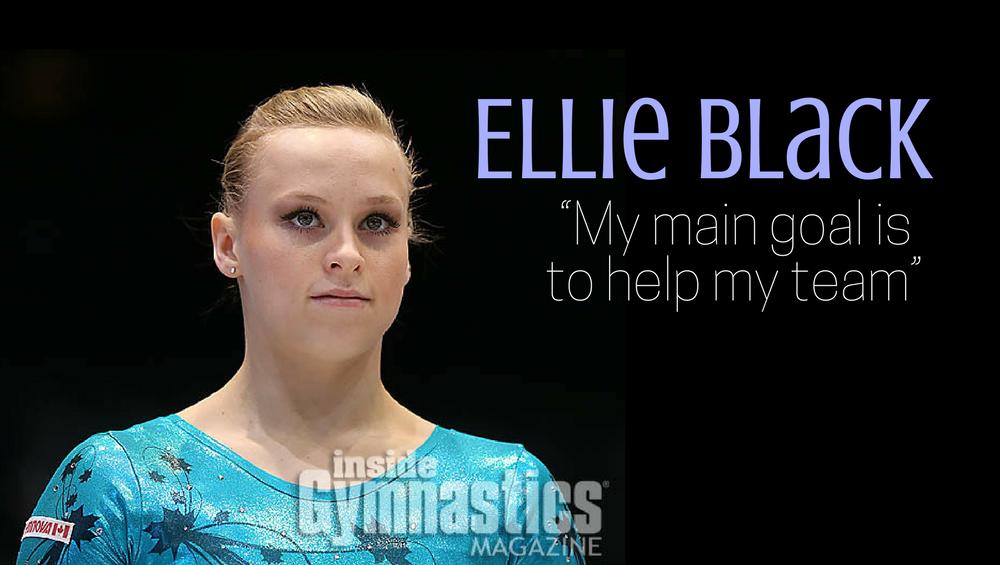 """Ellie Black: """"My main goal is to help my team"""""""