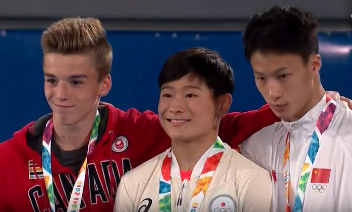 Félix Dolci adds a Youth Olympic medal for Canada