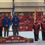 Québec's Félixes 1-2 in Canada Games Men's All Around