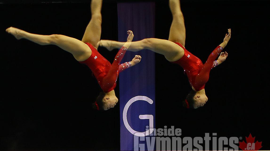 Emily Lee & Team USA win International Gymnix Senior Cup